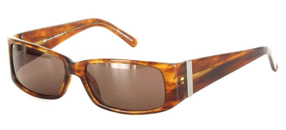 lunettes de soleil ExperOptic Genova Ambre boise