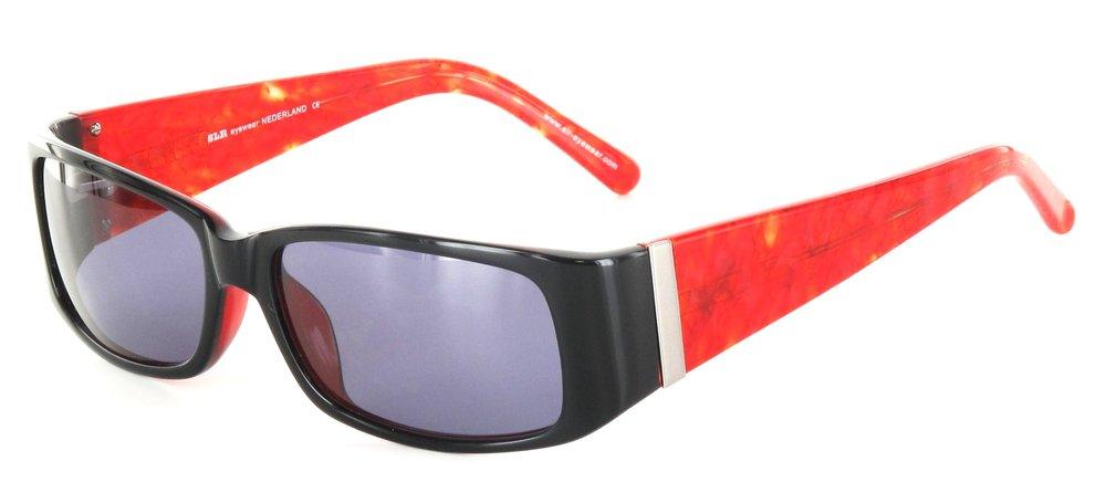 lunettes de soleil ExperOptic Islandia Noir et rouge