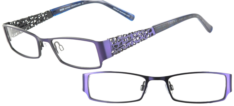 lunettes de vue ExperOptic Resilla Prune violet