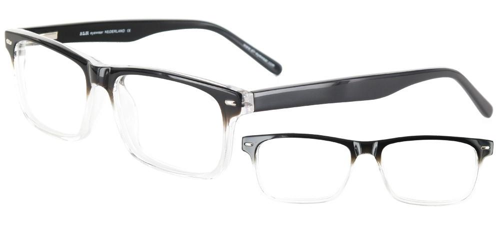 lunettes de vue ExperOptic Gradata Noir vers cristal