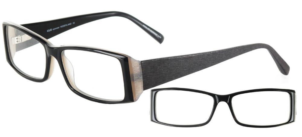 lunettes de vue ExperOptic Brossata Noir brosse
