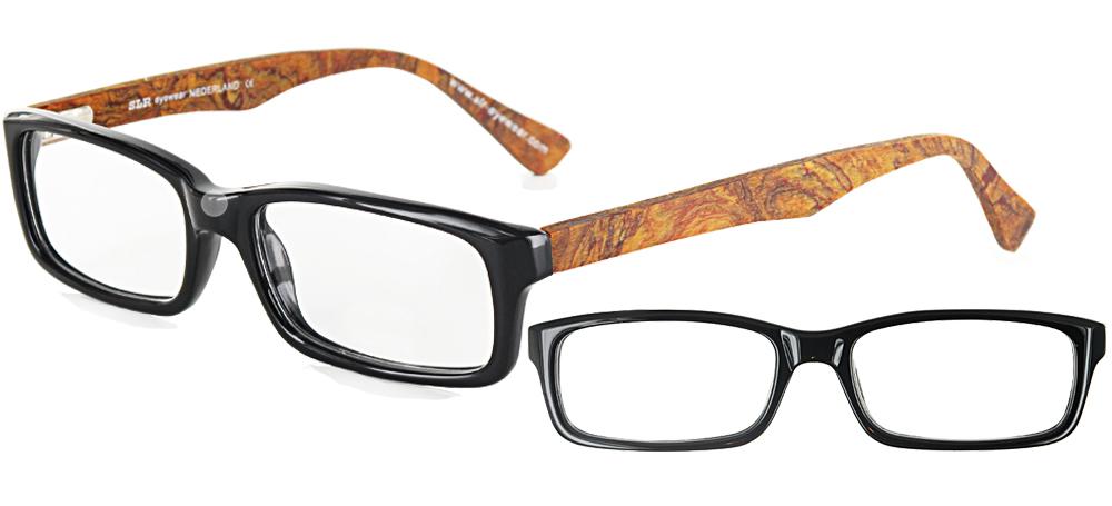 lunettes de vue ExperOptic Staford Noir loupe olivier