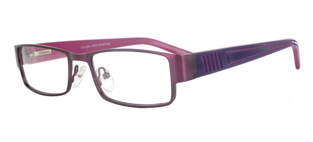 lunettes de vue ExperOptic Praha prune