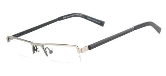 lunettes de vue ExperOptic Gothard Argent et Noir