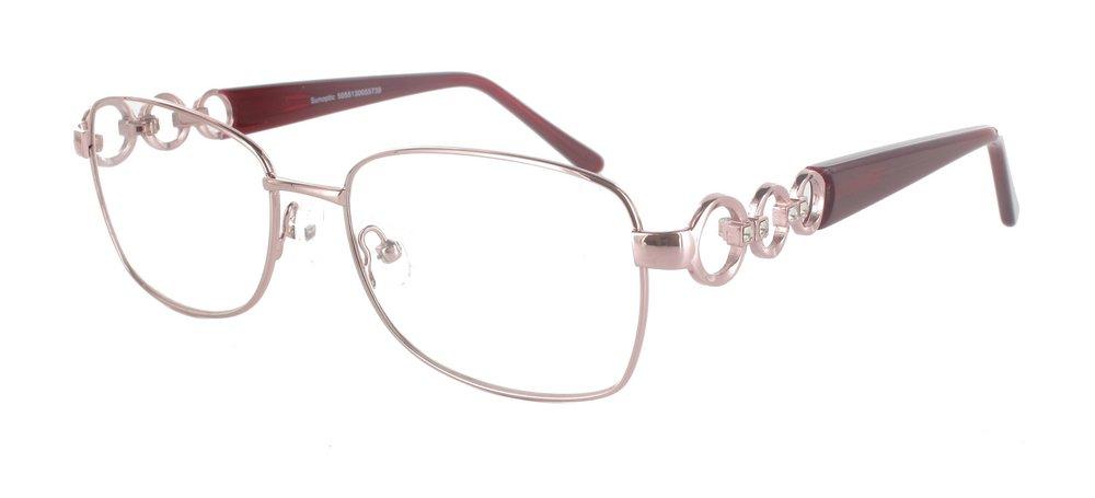 lunettes de vue ExperOptic Apolline Argent