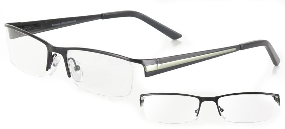 lunettes de vue ExperOptic Oslo Noir Vert