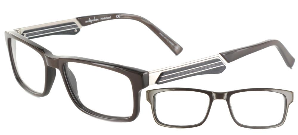 lunettes de vue ExperOptic Gatsby Brun sombre