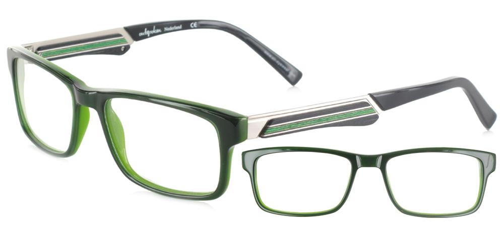 lunettes de vue ExperOptic Gatsby Vert foret