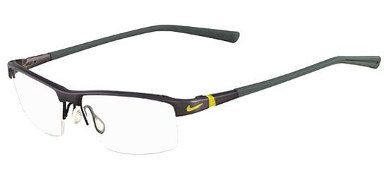 Lunettes color�es Nike 6050 045 Titane  Gris sombre