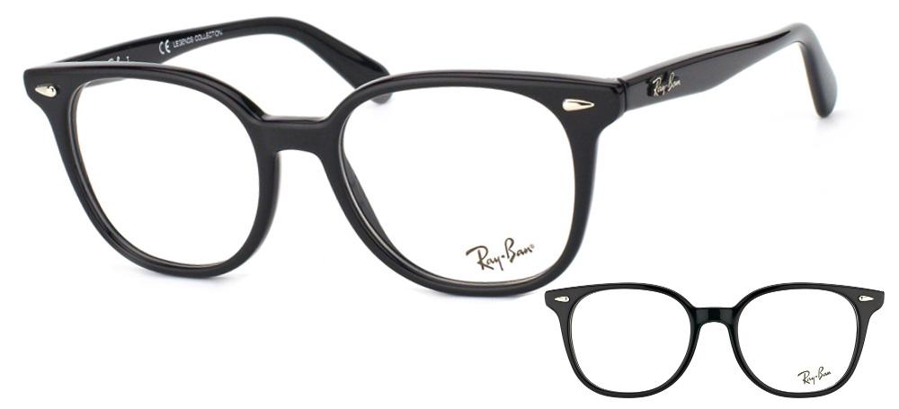 lunettes de vue rx5299 2000 noir ray ban. Black Bedroom Furniture Sets. Home Design Ideas