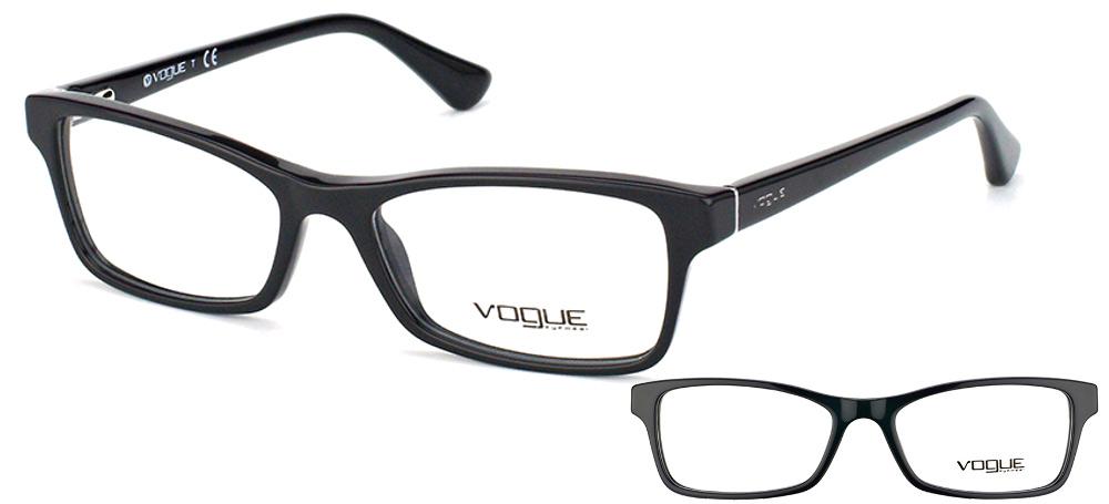 Lunettes Vogue VO2886 W44 Noir 9322595fad6c