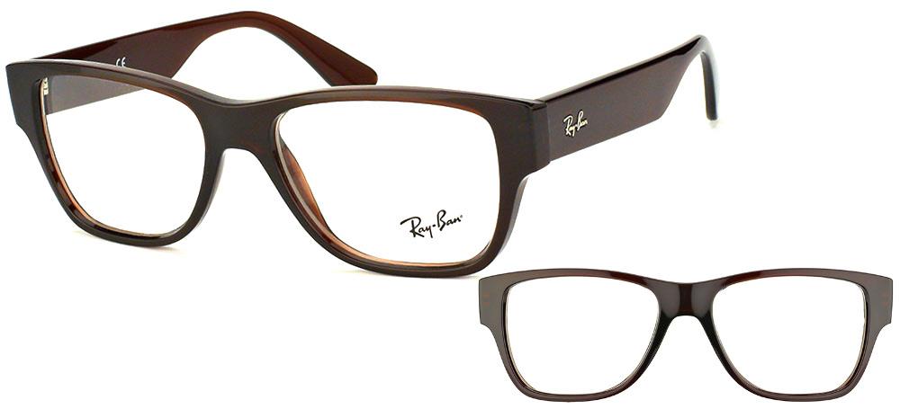 ray ban lunettes de vue marron
