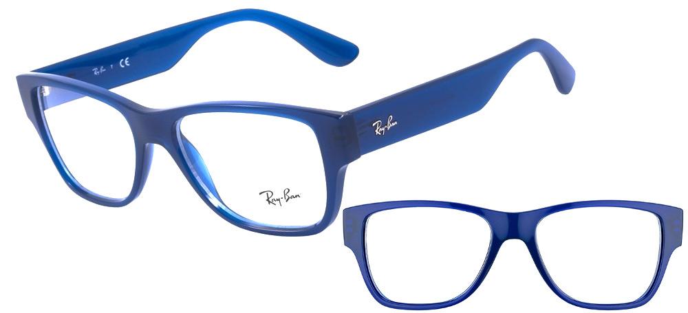 lunettes de vue ray ban rx 7028 5393 bleu ray ban. Black Bedroom Furniture Sets. Home Design Ideas