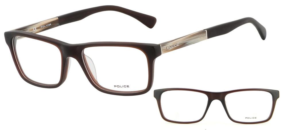 lunettes de vue Police V1832-958M Face noire
