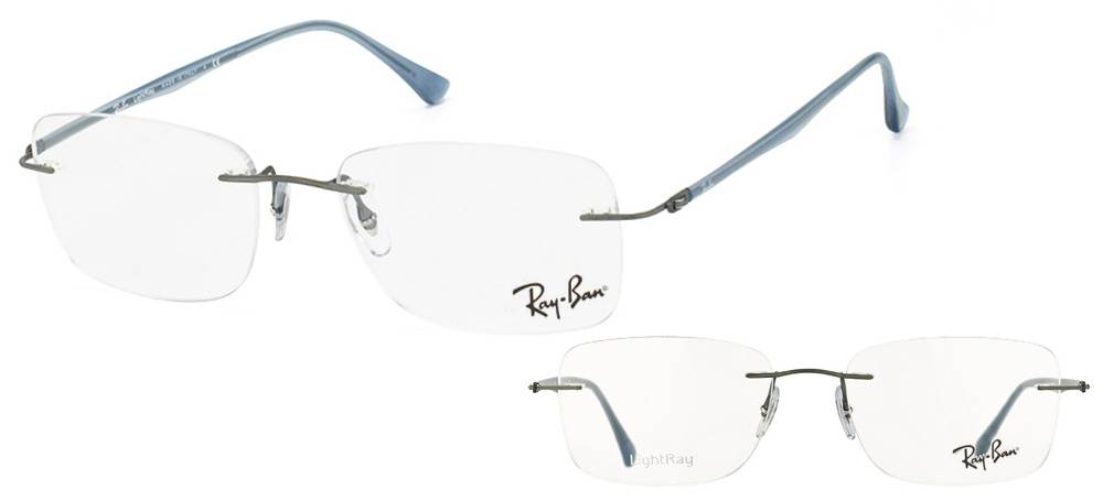 Ray-Ban RX8725-1028 LightRay Gris fonce