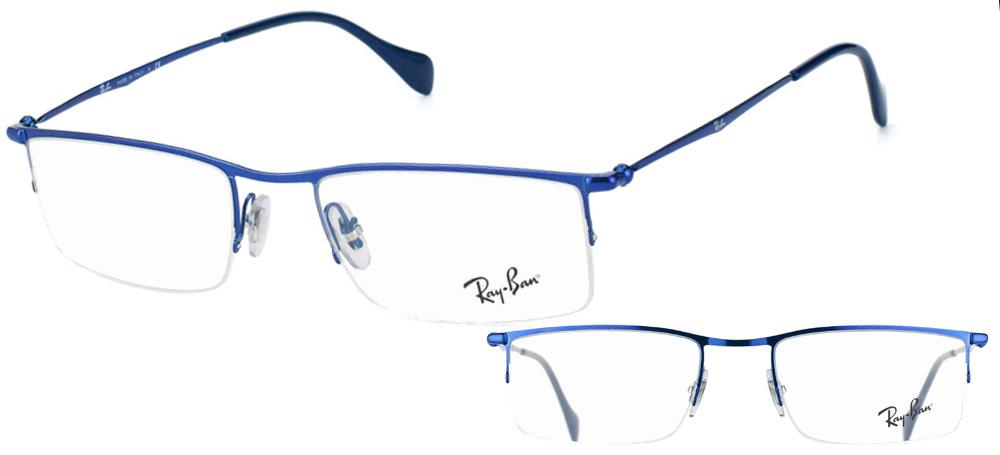 Lunettes color�es Ray-Ban RX6291 2787 Bleu
