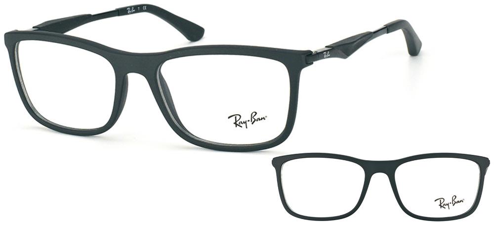 Ray-Ban RX7029-2077 noir mat