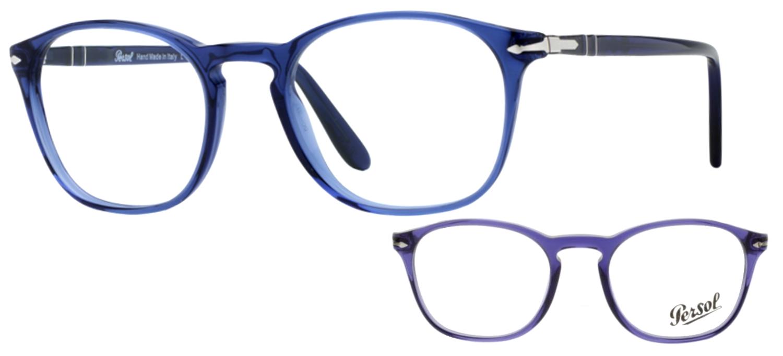 Persol PO3007V 1015 Bleu cobalt