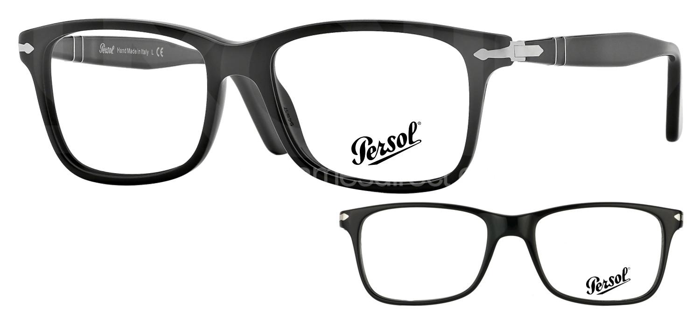 lunettes de vue Persol PO3014VM 95 Noir
