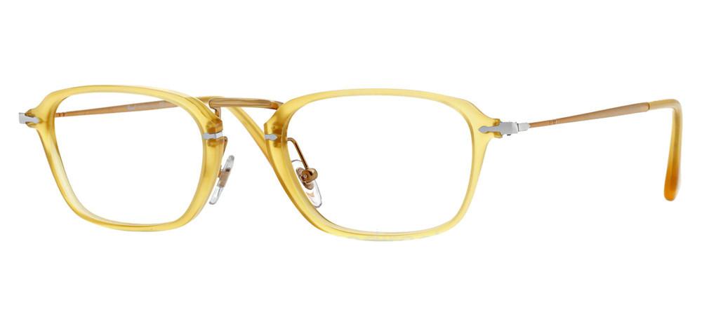 lunettes de vue Persol PO3079V 204 Cristal jaune