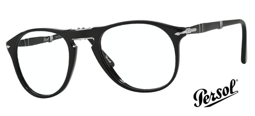 lunettes de vue Persol PO9714VM 95 Noir