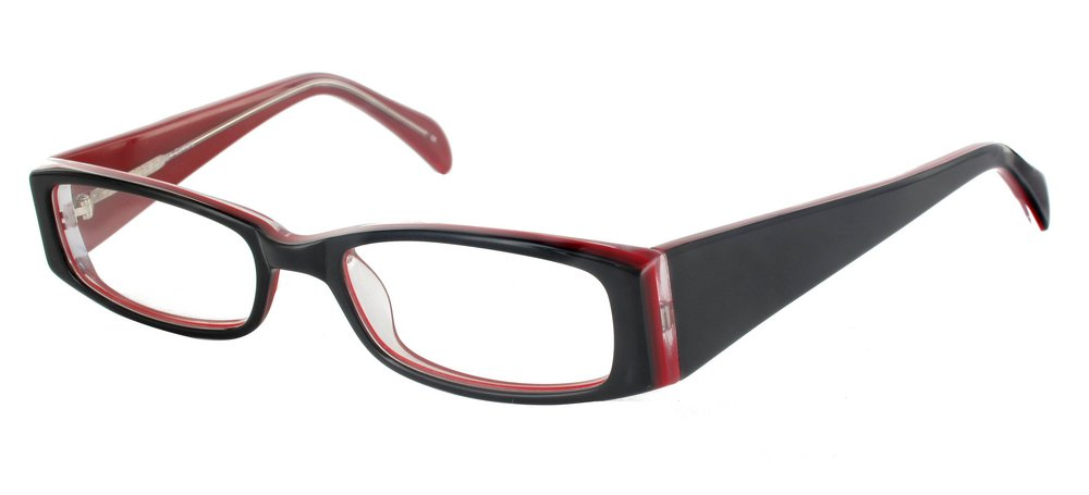 lunettes experoptic avon noir et rouge. Black Bedroom Furniture Sets. Home Design Ideas