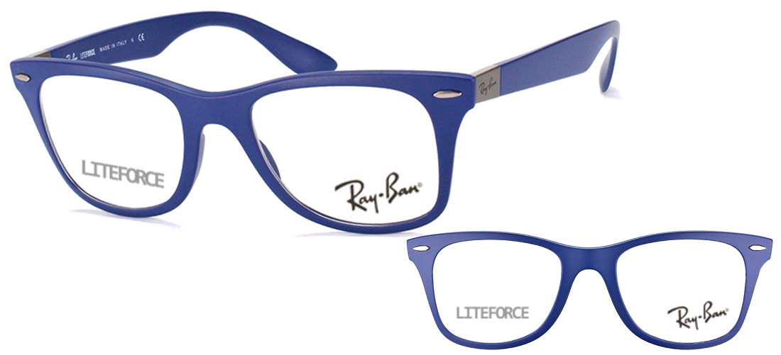 e4400cf030813 Lunettes Ray-Ban RX7034-5439 LiteForce Bleu nuit