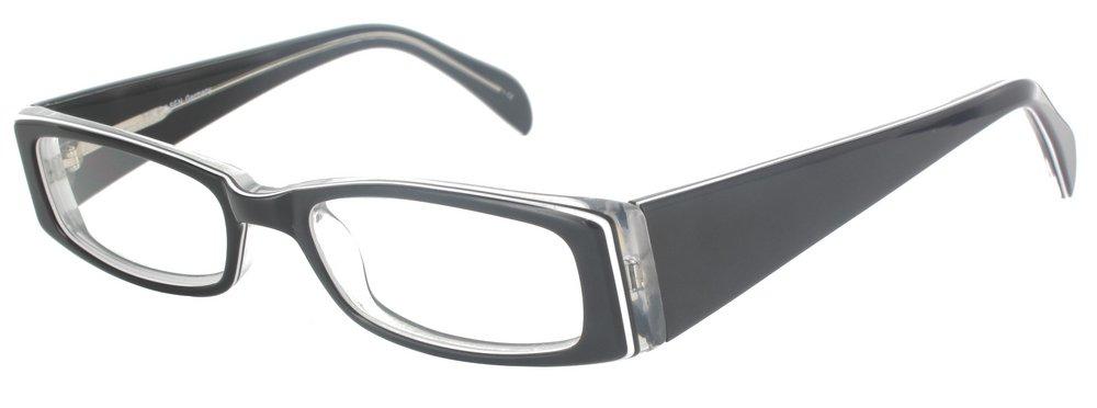 lunettes de vue ExperOptic Avon Noir Cristal