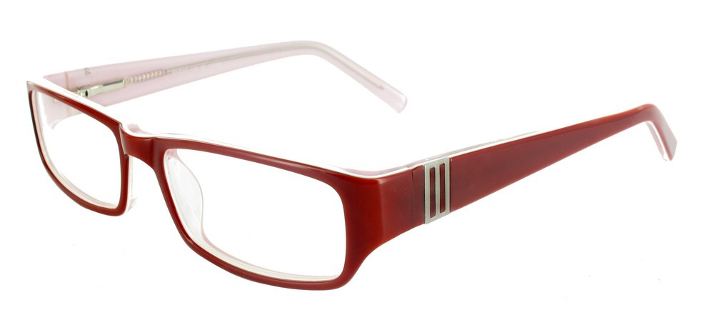 lunettes de vue ExperOptic Nancy Bourgogne Rose dragee