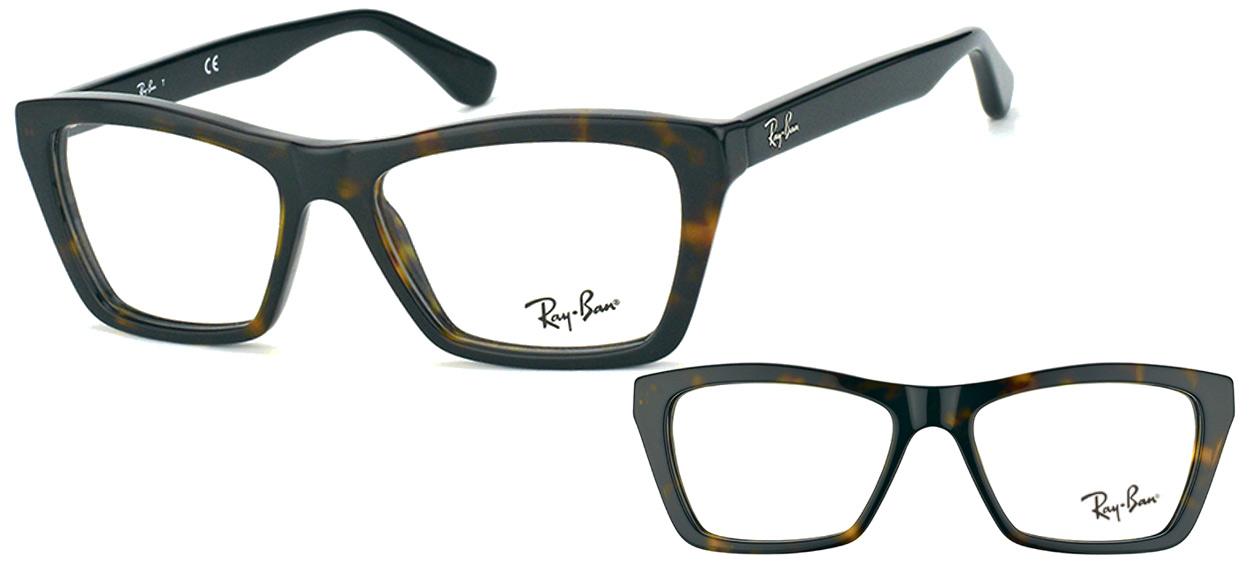 Ray-Ban RX5316-2012 marron