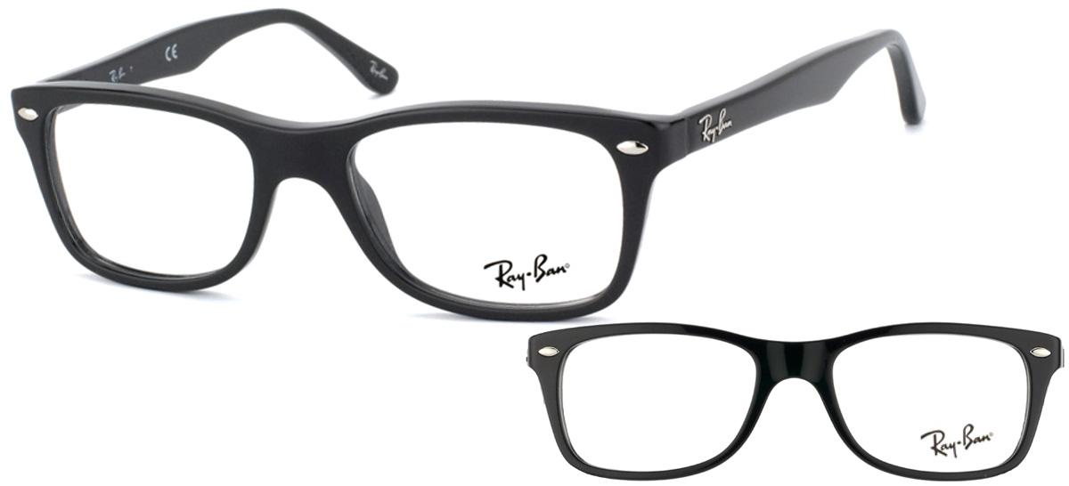 Ray-Ban RX5228-2000 Noir