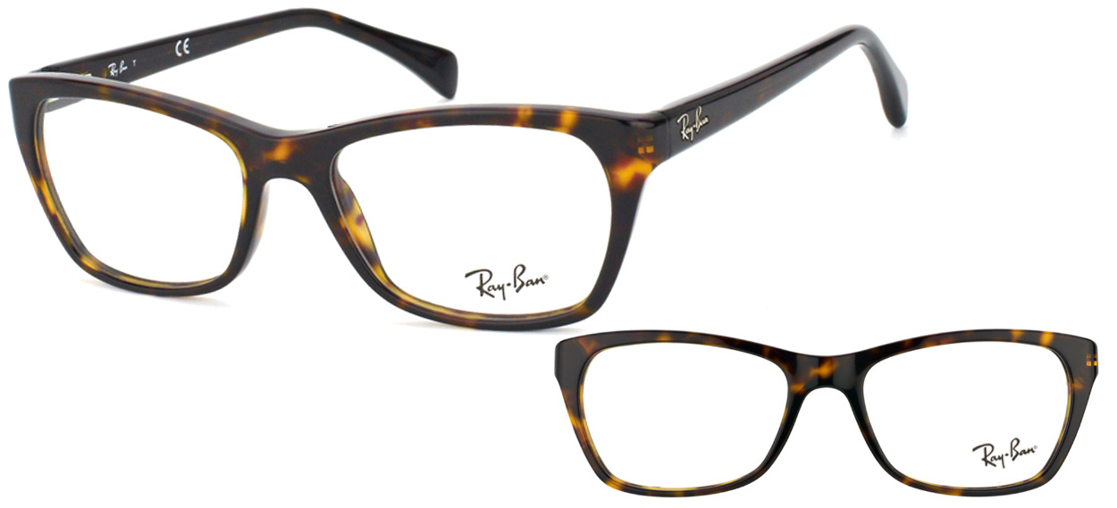 lunettes de vue Ray-Ban RX5298-2012 Havane