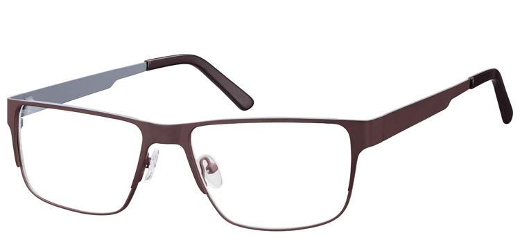 lunettes de vue ExperOptic Imola Marron