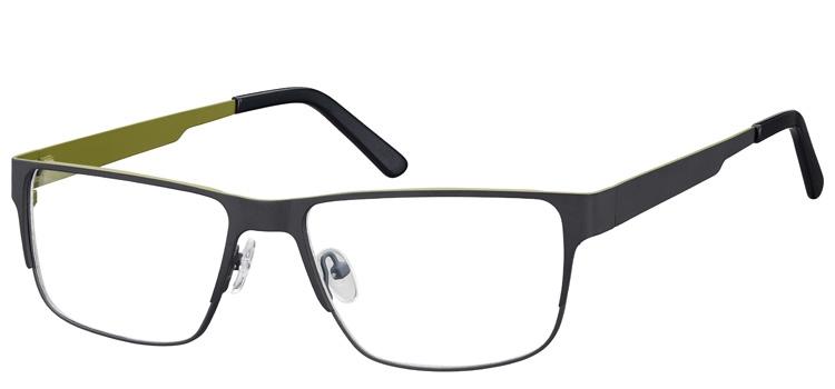lunettes de vue ExperOptic Imola Gris vert