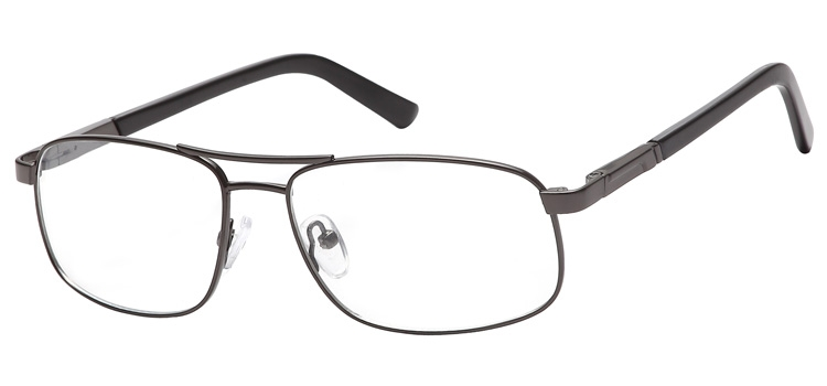 lunettes de vue ExperOptic Nogaro Gun sombre