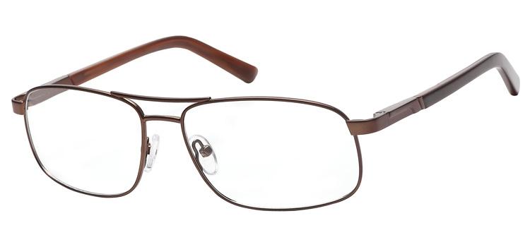 lunettes de vue ExperOptic Nogaro Marron