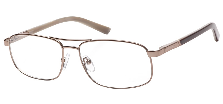 lunettes de vue ExperOptic Nogaro Marron clair
