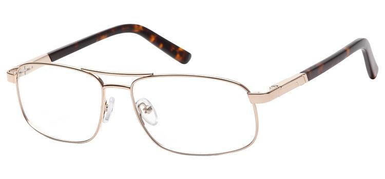 lunettes de vue ExperOptic Nogaro Or Ecaille