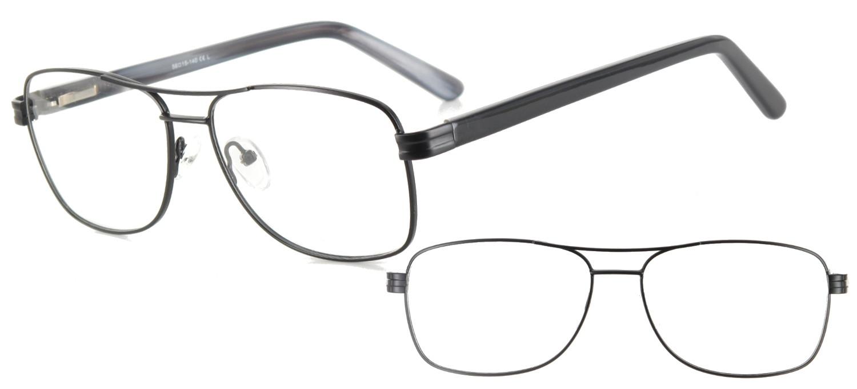 lunettes de vue ExperOptic Brabam Noir