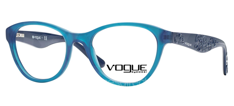 lunettes de vue Vogue VO2884 2109 Bleu lagon