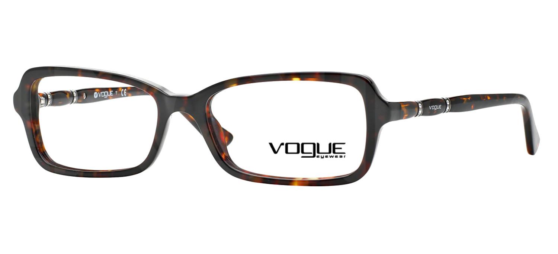 lunettes de vue Vogue VO2888B W656 Havane sombre