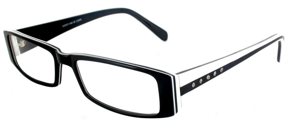 lunettes de vue orion noir blanc experoptic eco. Black Bedroom Furniture Sets. Home Design Ideas