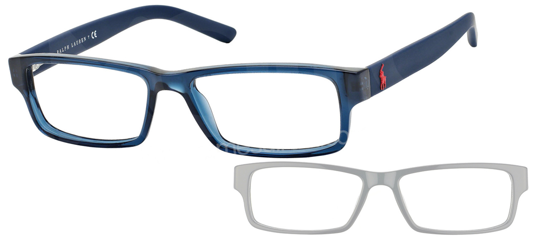lunettes ralph lauren ph2119 5470 bleu marine brillant. Black Bedroom Furniture Sets. Home Design Ideas