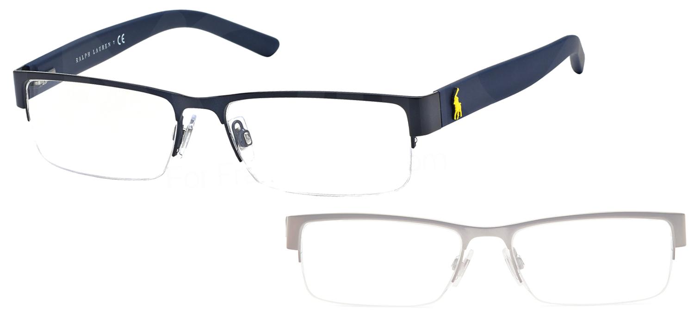 lunettes ralph lauren ph1148 9119 bleu mat. Black Bedroom Furniture Sets. Home Design Ideas