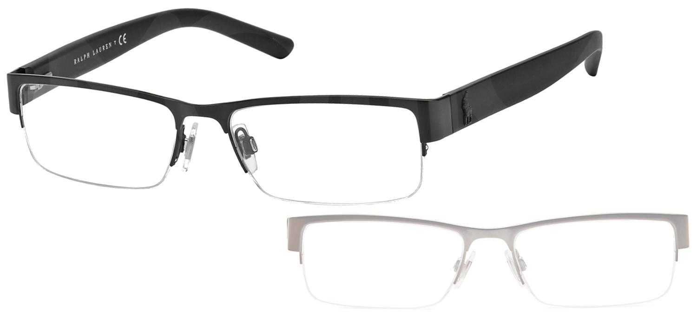 dfc39ba272f02 lunettes de vue Ralph Lauren PH1148-9038 Noir mat