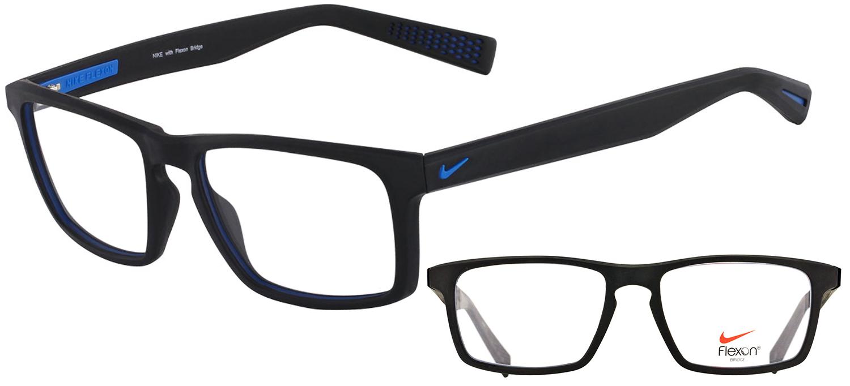 lunettes de vue Nike NI4258-016 Noir bleu