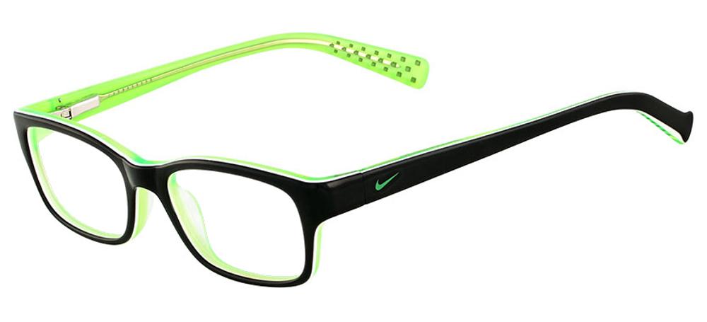 Nike NI5513-001 Noir Vert