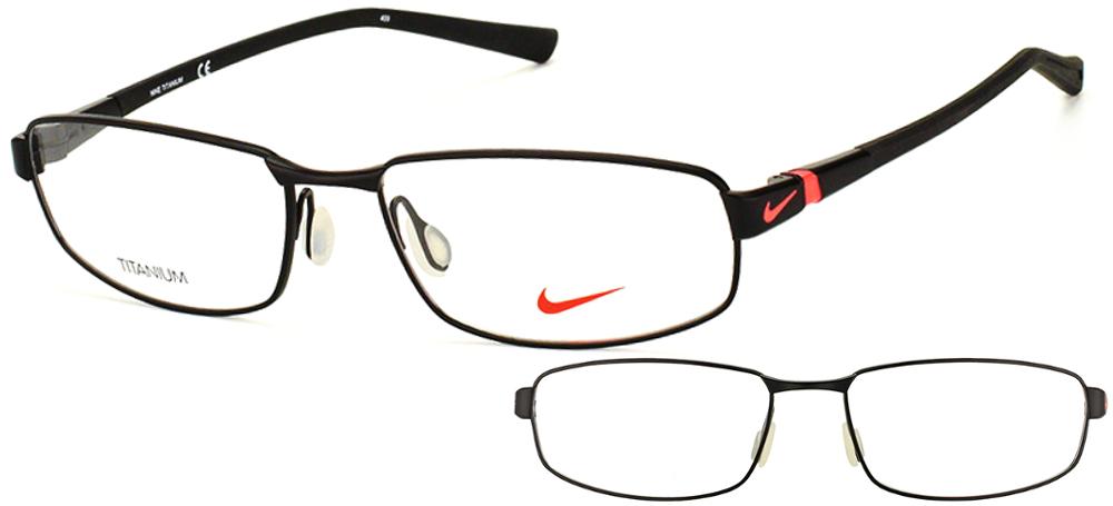 lunettes de vue Nike NI6056-004 Noir rouge
