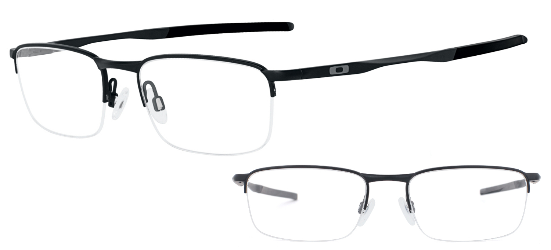 lunettes de vue Oakley Barrelhouse OX3174-01 Noir