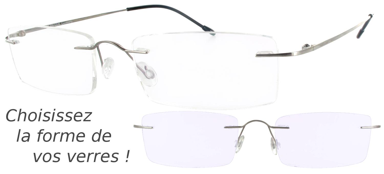 lunettes de vue Flinnart Gun Metal